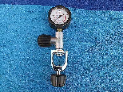 New Northern Diver  232 Bar A Clamp Cylinder Check Gauge New Bought Not Used