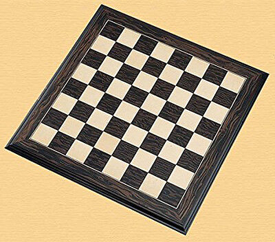 H809 Ebony and Maple Chessboard (50mm Squares)
