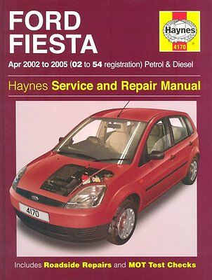 Ford Fiesta Petrol and Diesel Service and Repair Manual: 2002 to 2005 - Does no