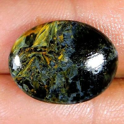 RING SIZE 10.80cts 100% NATURAL LOVELY PIETERSITE OVAL CABOCHON AFRICAN GEMSTONE