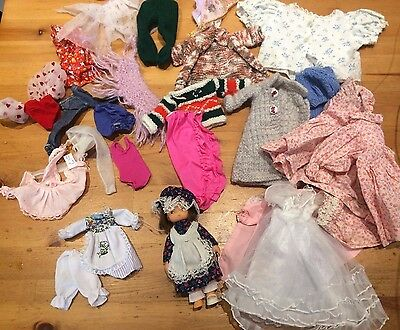 Vintage Matilda Doll Pedigree 1970s spare outfit??bundle of mixed clothes