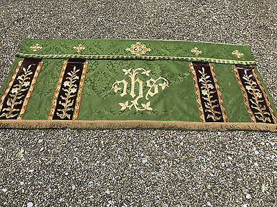 Victorian Altar Frontal - Stunning Hand Worked Emblems