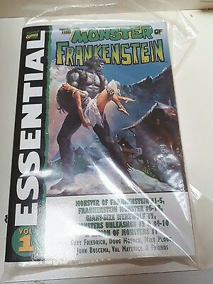 THE ESSENTIAL MONSTER OF FRANKENSTEIN Vol 1  - Marvel comics - softcover