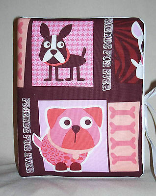 "Dog or Puppy Handcrafted Handmade Photo Album Holds 80 4""X6""  New P/W"