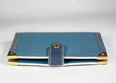 Authentic Louis Vuitton Suhali Leather Agenda PM Cover and Ruler