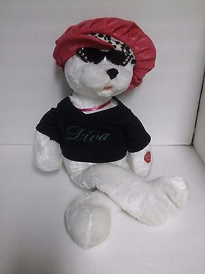 """Diva """"Girls Just Want To Have Fun"""" Singing Doll 19"""" Hat & Sunglasses"""