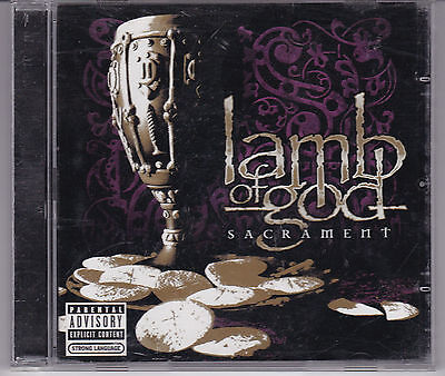 Lamb Of God Sacrament Cd From 2006 Groove Metal Thrash