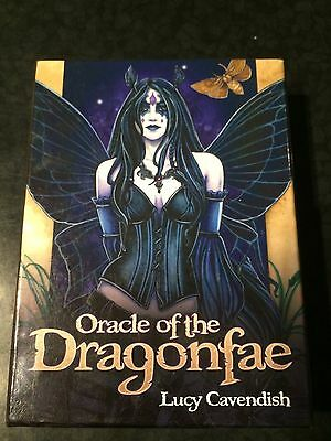 Tarot Cards & book - Oracle of the Dragonfae by Lucy Cavendish