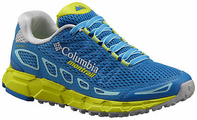 Columbia Montrail Bajada III Training Shoe, Womens, Static Blue, Zour, 7.5
