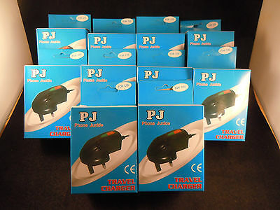 Job lot of 10 new old stock Siemens C55/C75/M55/A55/SL65 mobile mains chargers