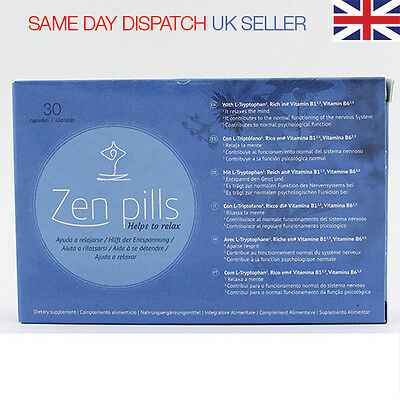 Zen Pills: Relax Capsules - Control Anxiety - Stress Relief Tablets - WORKS !!!