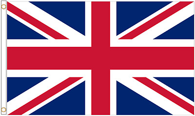United Kingdom Union Jack 5'x3' HEAVY DUTY NYLON Flag