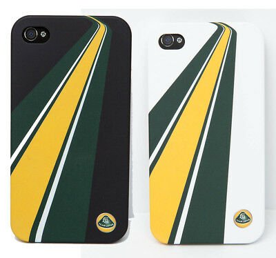 iPHONE 4 CASES Geheuse Formel Formula One 1 Team Lotus F1 NEU White Black AT