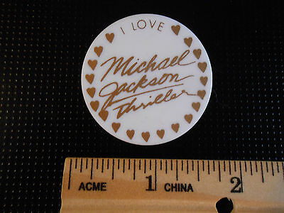 Pinback Michael Jackson The King Of Pop ...** Thriller **  ...i Love