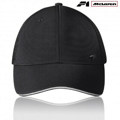 Cap Kappe Hat Formula One 1 McLaren Lifestyle F1 schwarz Logo Badge AT