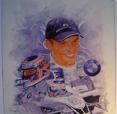 F1 Formel Formula One 1 NEU Jenson Button Ltd Ed. signed print Plakat AT