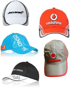 CAPS X 5 Different Formula One 1 F1 Job Lot McLaren Button Alonso Magnussen  CA