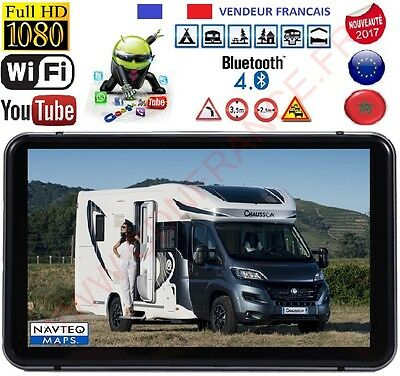 Gps Camping Car Android Internet Hd Avec Camera Dvr 2017