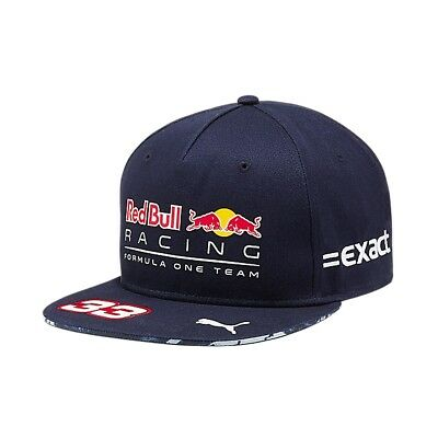 Cap Kappe Red Bull Racing Formula One 1 F1 2017 Verstappen No.33 Hip Hop AT