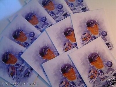 F1 Formel Formula One 1 NEU Jenson Button Greeting Cards Karte (10) AT