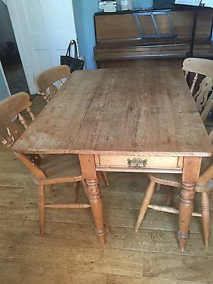 Shabby chic Antique Pine Table