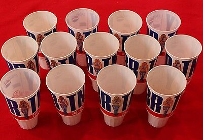 2001/02 Britney Spears World Tour Pepsi / 7-eleven plastic cup LOT OF 13