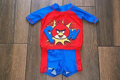 ANGRY BIRDS boys swim sun suit set, 18-24 months, OTHER ITEMS