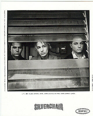 Silverchair, CLASSIC official 8x10 press photo! 1999, record company portrait