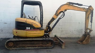 2007 CAT 304 CR Mini Excavator Digger - Diesel - 6,756 Hours - Ready to Work Now