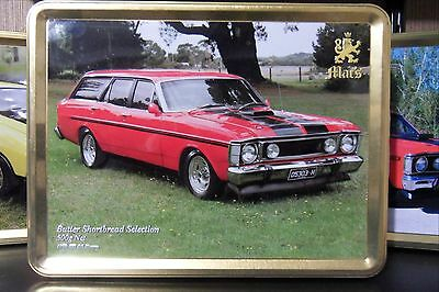 MACS Biscuit Collector Tin,1970 Ford XW GS Wagon