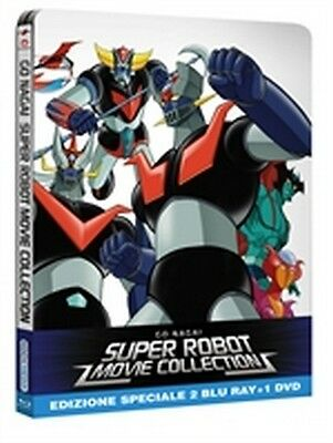 Go Nagai Super Robot Movie Collection - Limited Edition (2 Blu-Ray Disc + DVD)