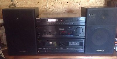 Technics SA-X800 Integrated Hifi System With Matching Speakers SB-F800 + Remote