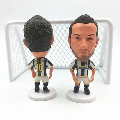 Statuina Alex ALESSANDRO DEL PIERO 10 JUVENTUS FC doll football action figure