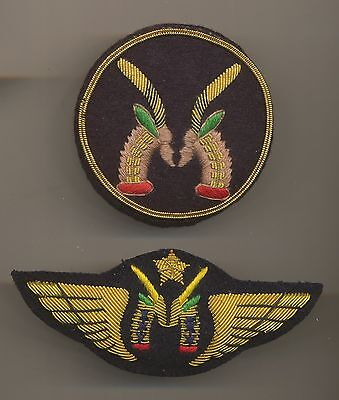 Air Mali Airlines Pilot Wings and Hat Badge