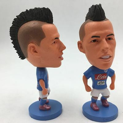 Statuina MAREK HAMSIK #17 SSC NAPOLI CALCIO doll toy football action figure 7 cm