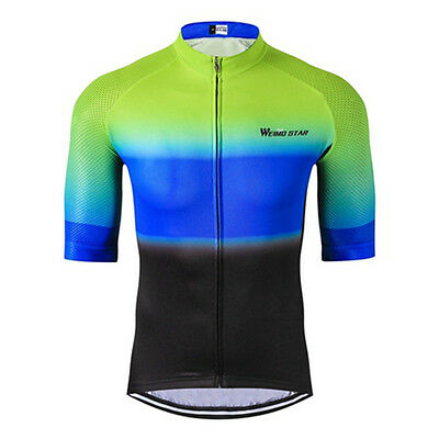 2017 Half Sleeved Sports Clothing Outdoor Cycling Jersey Top Shirt Mtb Bike Wear