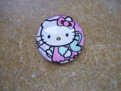 Lot Of 4 Hello Kitty Refrigerator Magnets 25Mm Nwts