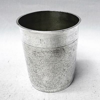 Antique Swiss Silver Beaker Circa 1680. Stock ID 8899