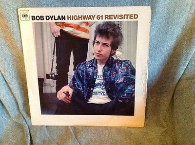 BOB DYLAN Highway 61 Revisited  1965 Folk Rock Vinyl LP Album