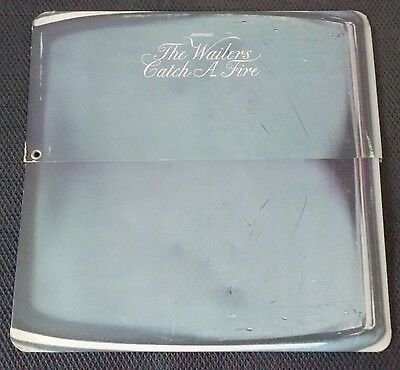 ( Bob Marley & ) THE WAILERS Catch a Fire LP in ZIPPO SLEEVE Great Condition