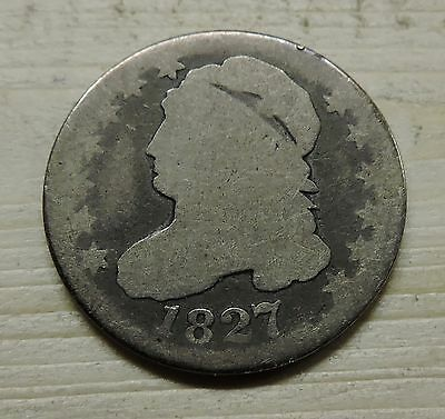 1827 Capped Bust 10 Cent Coin
