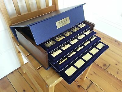 Franklin Mint JANE'S MEDALLIC World's Great Aircraft 24k gold plated bronze