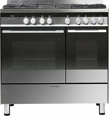 Fisher and Paykel OR90LDBGX1 90 cm Dual Fuel Range