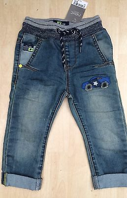 New Next Age 12-18 Months Boys Jeans Baby Toddler Mths, Cars Car