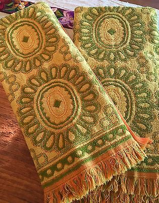 Vintage Cannon Monticello MCM Set Of Two Towels