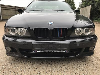 Bmw E39 Cosmos Black M Sport Front Bumper 5 Series Saloon Touring