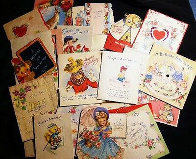 200 Greeting Cards Birthday Childrens Valentines Announcments Jewish No Reserve