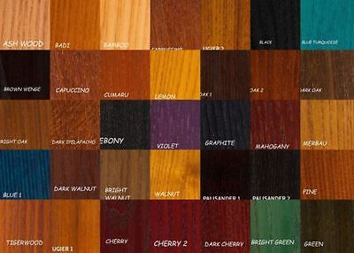 Water Based Wood Stain / Dye  38 Colours Woodworking DIY 450ml