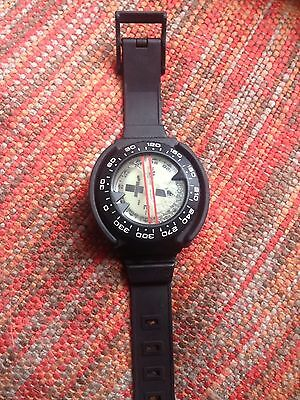 Sherwood Scuba Diving Compass With Removable Wrist Strap Housing