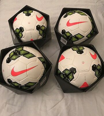 NEW Nike Incyte (Lot Of 4) FIFA Official Match Soccer Ball LotSIZE 5  MSRP $600